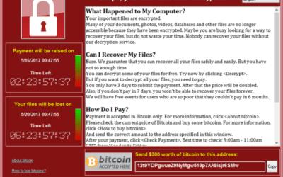Wannacry : protégez votre entreprise du ransomware
