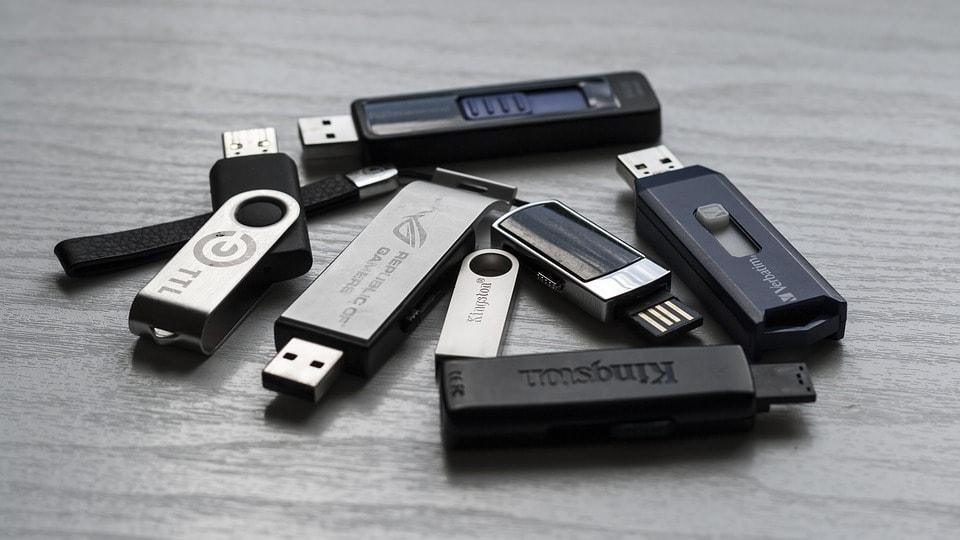 Entreprises, méfiez-vous des clés USB.