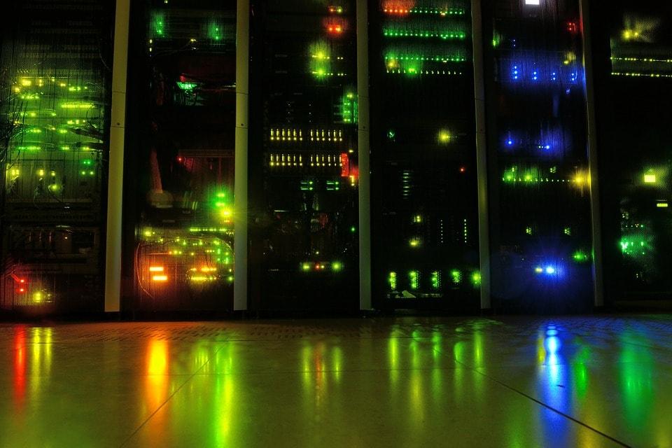 La maintenance du serveur informatique d'entreprise