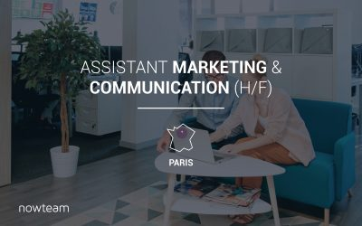 Assistant Marketing & Communication (H/F) PARIS