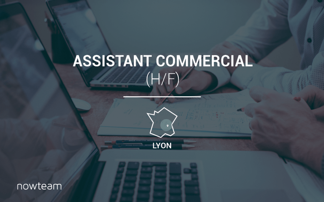 Assistant Commercial (H/F) LYON