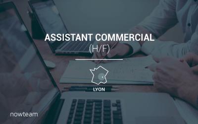 Assistant Commercial (H/F) LYON