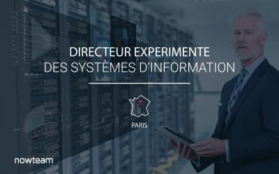 Directeur des Systèmes d'Information Sénior (H/F) PARIS