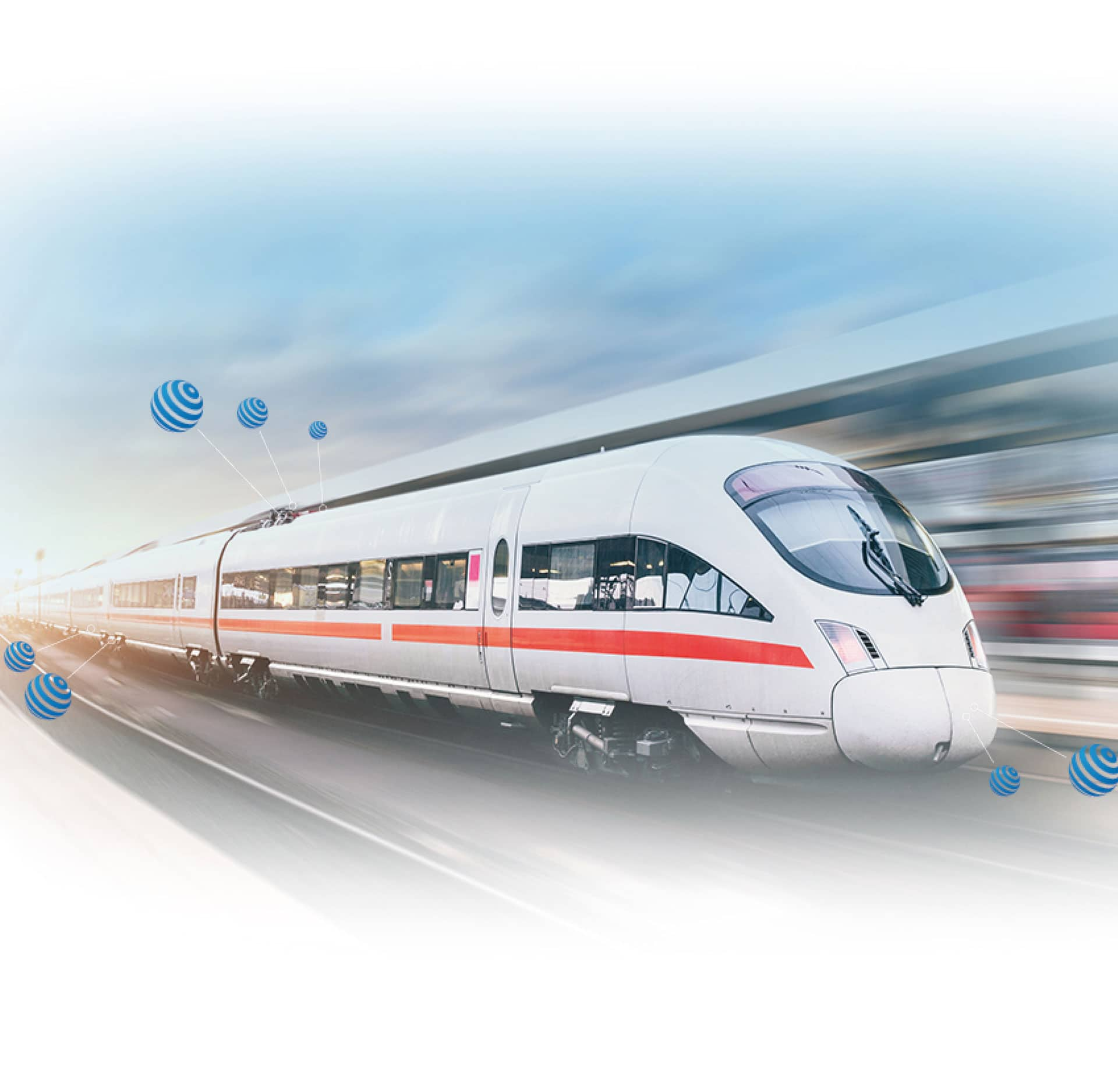 Train de grand vitesse