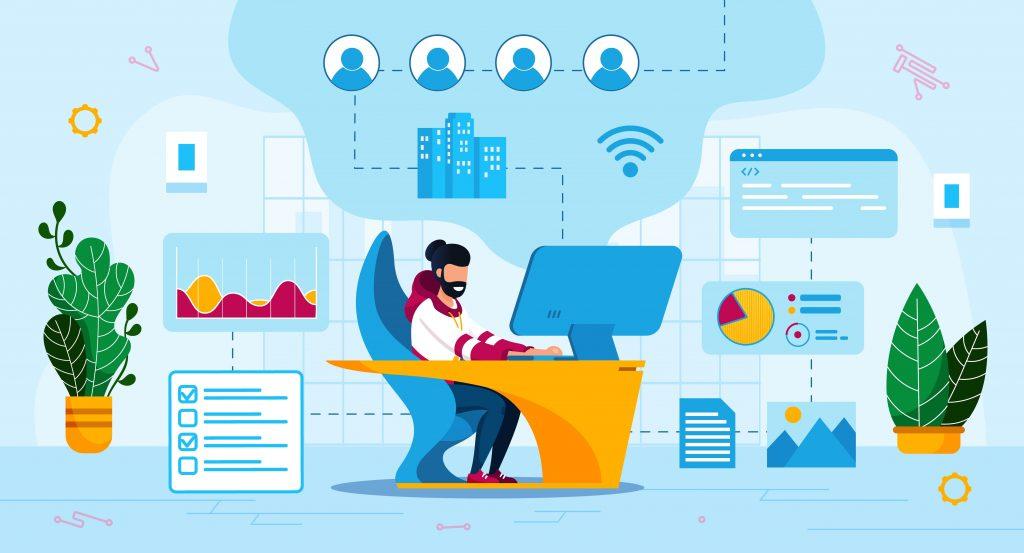 Le travail à distance doit pouvoir se faire dans les meilleures conditions de productivité. L'accès à distance aux données est un enjeu primordial.
